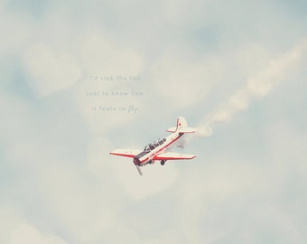 Red and White, Airplane Photo, Airplane Photography, Airplane Art Prints, Airplane Prints, Airplane Wall Decor, Aviation Prints, Art Prints