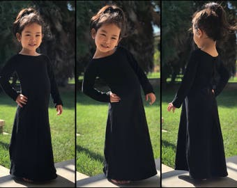 Custom Maxi Dress for Girls, Toddlers, and Babies