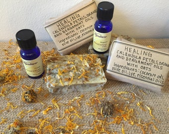 Healing Handmade Bar of Soap