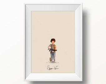 Sigourney Weaver - Alien Poster