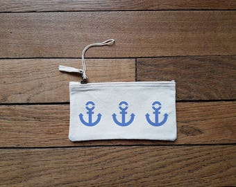 Pouch zip anchors (size S)