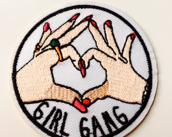 Girl Gang | Patch | Cute | Hipster | Trendy | Emo | DIY | Fashion | Retro