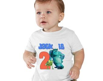Monster Inc Birthday personalized shirt