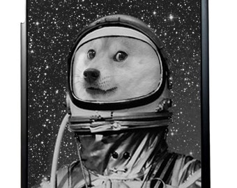 iPad Case Cute Astronaut Doge For iPad 2/3/4, iPad Mini 1/2 and iPad Air