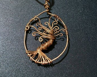 Tree Of Life, Yggdrasil in copper wire