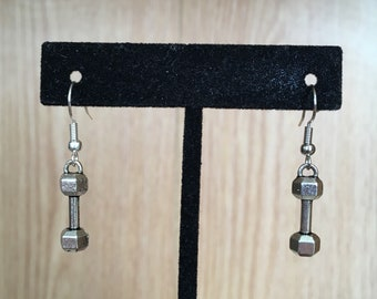 Silver Weights Earrings