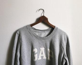Oversized 90's Gap Crewneck Sweatshirt