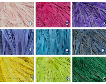"50 Organza Ribbon Cord Necklaces  24"" Length, You Pick Your Colors."