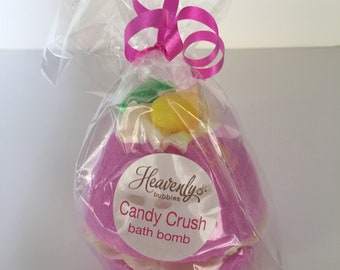 Heavenly Bubbles Candy Crush Bath Bomb