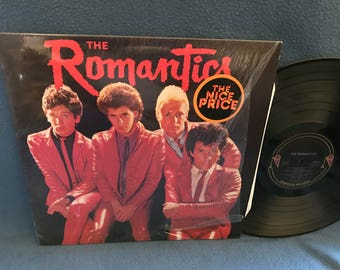 "Vintage, The Romantics - ""S/T"" Vinyl LP Record Album, Original 1980 Nemperor Press, What I Like About You, Tell It to Carrie, New Wave, Punk"
