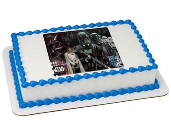 Star Wars Rogue One Empire Edible Cake Topper