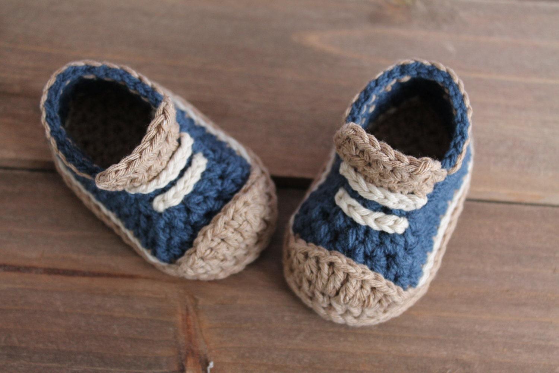 Cute Crochet Pattern for Boys Booties Crete