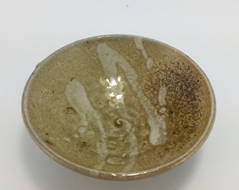 Small Footed Bowl - Woodfired Stoneware