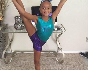 Girls Gymnastics Shorts