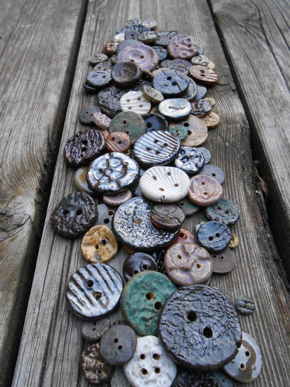 All the Single Clay Buttons