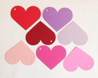 HEART TAGS! (10 ct)