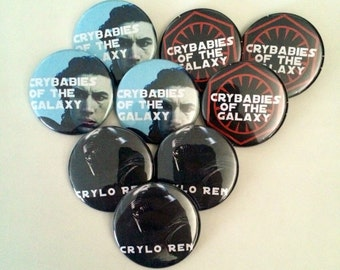 "Crybabies of the Galaxy - 1.5"" pins"