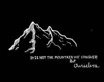 Mountain Inspirational Poster