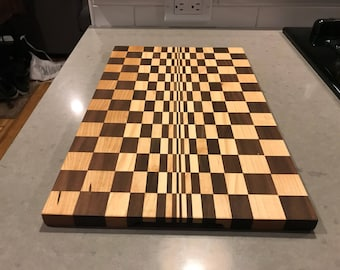 One Of A Kind Optical Illusion  Cutting Board