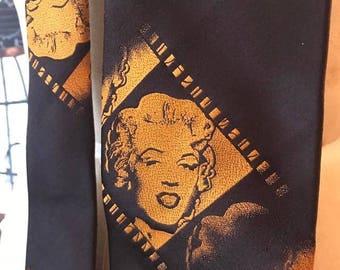 Vintage Marilyn Monroe Tie