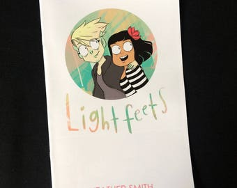 Lightfeets comic by Heather Smith. Mermaid and Goblin girlfriends magic adventure.