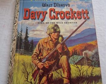 Walt Disney's Davy Crockett A Little Golden Book 1955
