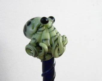 Octopus HairStick Lime Green