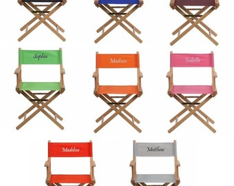 Personalized Adult Directors Chair - Standard Height