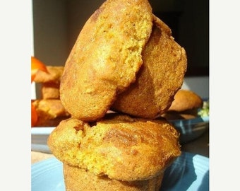 Muffins méga vente tante Hélène citrouille - deux douzaines (24 muffins)