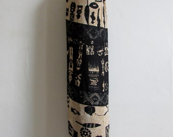 Yoga Mat Bag Pilates Mat Bag handmade Indian Tribal People Yogi People Bespoke (b24)  Free Gift Choice + Free UK Delivery