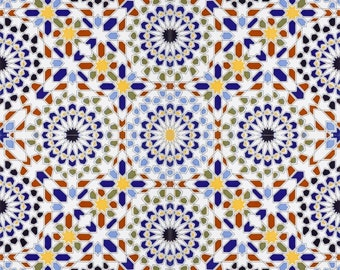 OMRAN- Colorful Ceramic tiles from Morocco, decoration tiles
