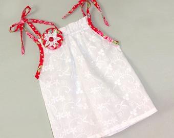 EASY Girls top pattern PDF, girls dress pattern pdf, Childrens sewing pattern pdf, girls sewing pattern pdf, SOPHIA