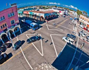 Venice Beach,Aerial View,Windward Avenue,Digital Download,Instant Download