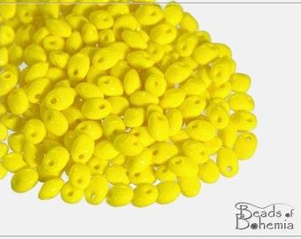 20 g Opaque Yellow Czech Preciosa SOLO Beads 2,5x5 mm (7673)