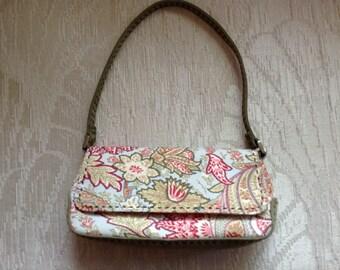 Liz Claiborne Floral Shoulder Bag