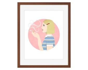 Margot/The Royal Tenenbaums print