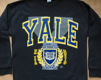 Yale University Crewneck Sweatshirt by Discus Athletic