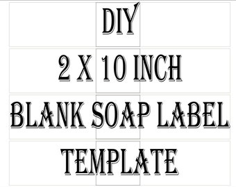 Label Template Etsy - Cigar label template
