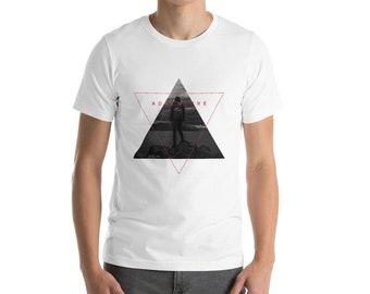 Outdoor Wandern T-Shirt - in die wilde Abenteuer Geometrie - Kurzarm-Unisex T-Shirt