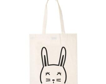 Einkaufstasche Kaninchen - Tasche Tote Abbildung