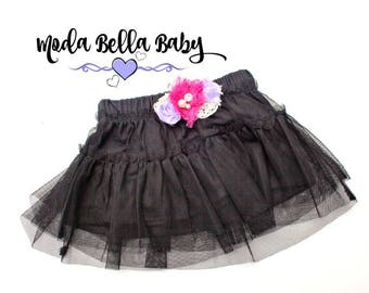 Baby Skirt, Tule Skirt, Baby Outfit, Baby Dress