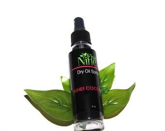 Body Spray Oil - Body Spray - Body Mist - Dry Oil Body Mist - Women's Body Spray - Kihei Coconut