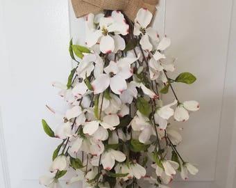 Summer wreath/front door wreath/door wreath/spring wreath / housewarming wreath