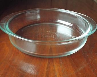 Vintage Glasbake Baking Dish; Casserole Dish
