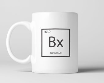 Zoo york etsy bronx element coffee mug cup science periodic table tea cocoa urtaz Gallery
