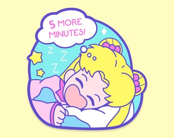 5 More Minutes, Sleepy usagi sticker!