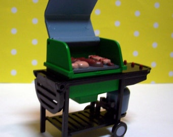 BBQ Grill Cake Topper