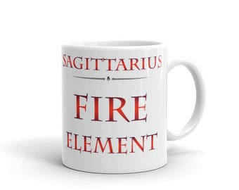 Sagittarius Fire Element Mug