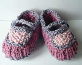Knitting Pattern Baby Booties - Beautiful Baby Shoes