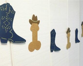 Bachelorette Banner | Bachelorette Sign | Bachelorette Party Decorations | Bachelorette Decorations | Nashville Bach | Nash Bash Penis Decor
